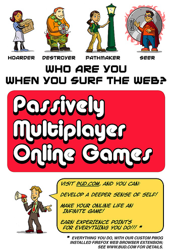 Passively Multiplayer Online Games Poster